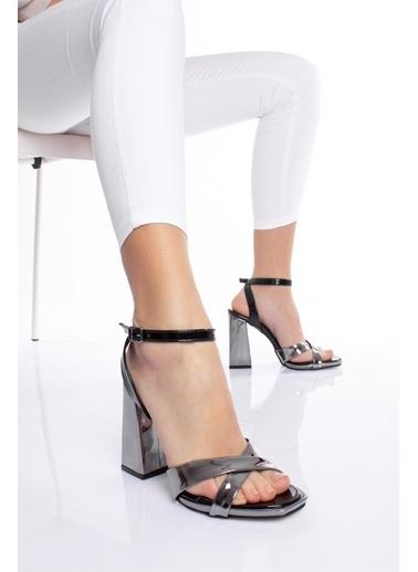 MODAGON Ayakkabı Gümüş